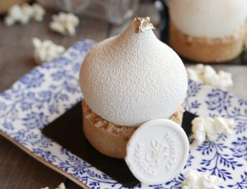 Popcorn, White Chocolate Tartremet